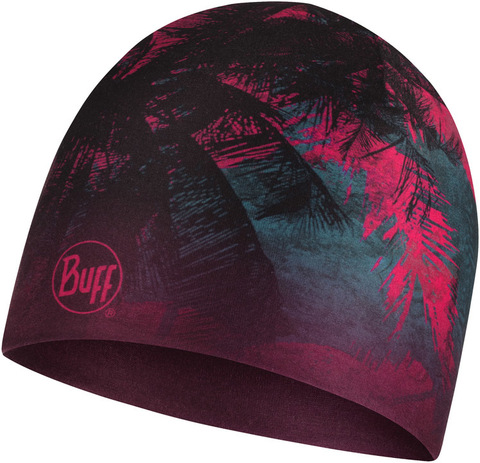 Тонкая теплая спортивная шапка Buff Hat Thermonet Coast Multi фото 1
