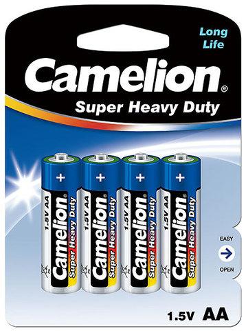 Батарейки Camelion Blue R6, AA (4/48) BL