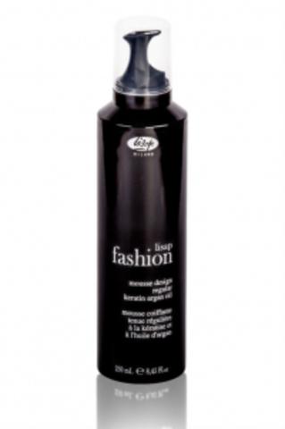Мусс для укладки волос средней фиксации «Lisap Fashion Mousse Design Regular» (250 мл)