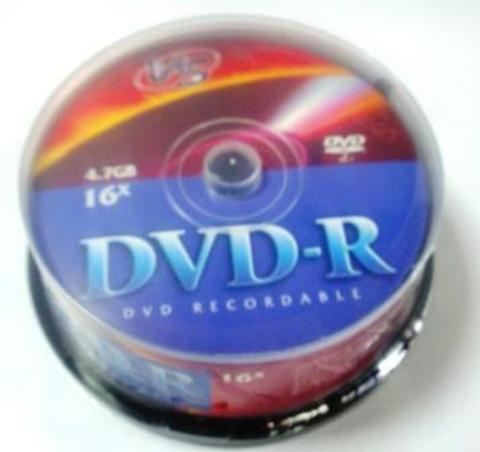 Диск VS DVD-R 4,7GB 16x CB/25