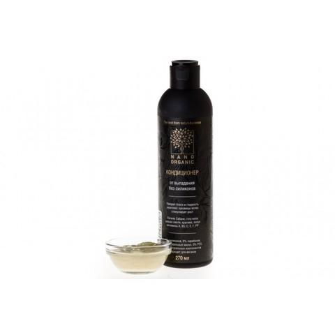 Шампунь для волос от выпадения, Nano Organic