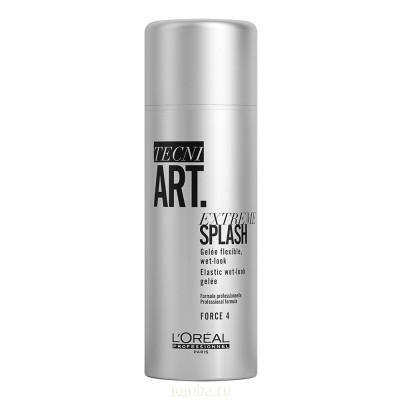L'Oreal Professionnel Tecni.Art: Гель с эффектом мокрых волос (Extreme Splash), 150мл
