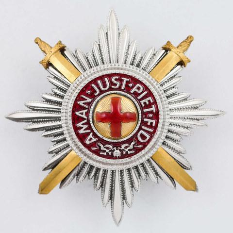 Звезда ордена св. Анна с мечами (копия)