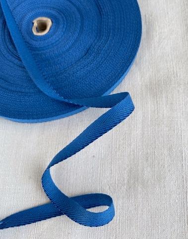 Киперная тесьма 10мм, синий