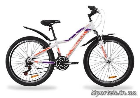 Горный женский велосипед Discovery Kelly AM VBR 2020 с колесами 26 дюймов, рама 16