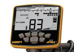 Металлоискатель Garrett ACE Apex катушка 6х11