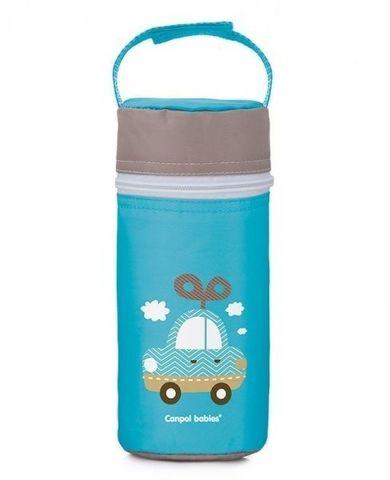 Canpol babies. Термосумка для детских бутылочек Toys, голубая