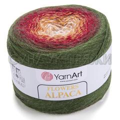 Flowers Alpaca Yarnart 420