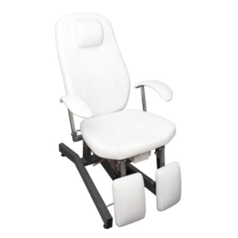 Педикюрое кресло Элит  1 мотор с раздвижными опорами для ног