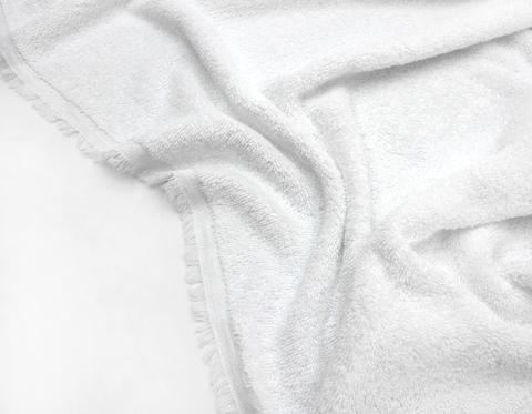 Махровое полотно, белый жемчуг,160см