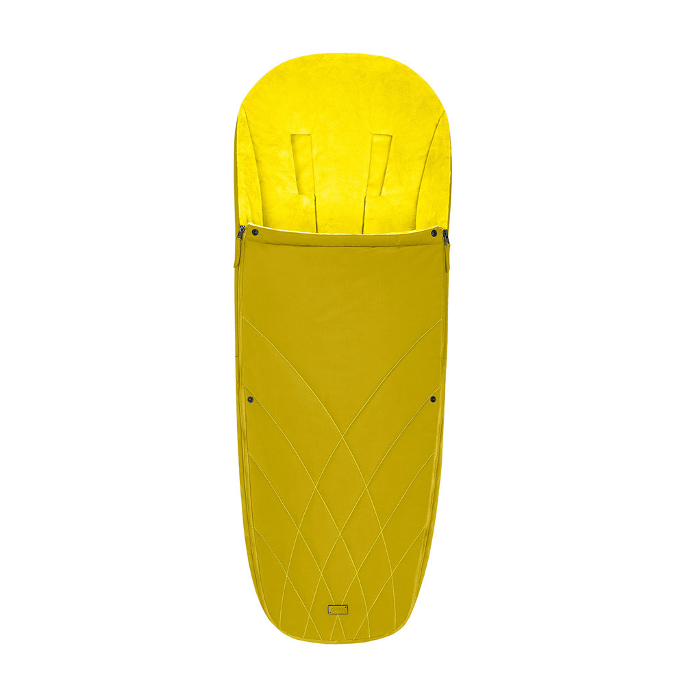 Теплые конверты для коляски Cybex Теплый конверт в коляску Cybex Priam Footmuff Mustard Yellow 10342_1_95-Platinum-Footmuff-Design-Mustard-Yellow.jpg