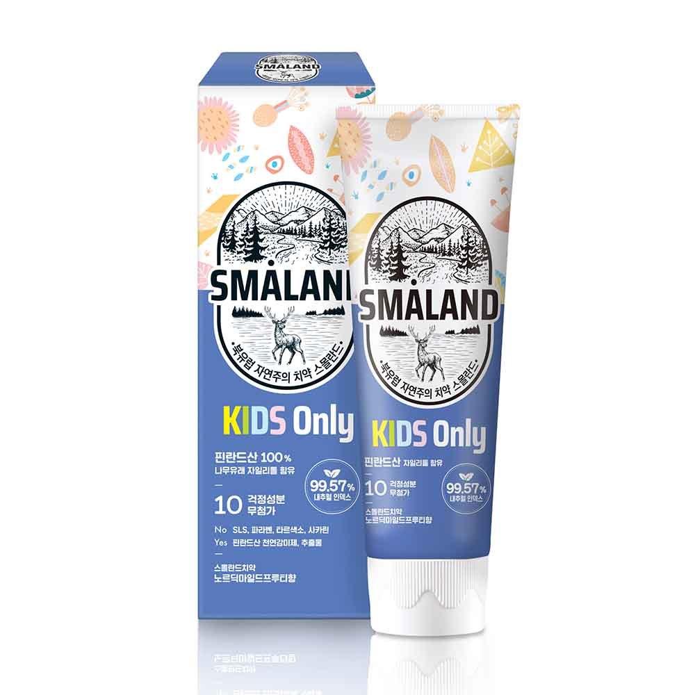 Детская зубная паста Smaland Mild Fruity Фруктовая