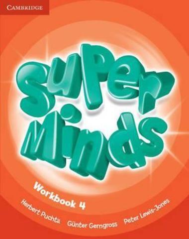 Super Minds 4 (SB+WB)+CD+DVD
