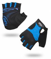 Велоперчатки RAY Black-Blue