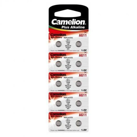 Батарейки Camelion AG 11 / 10 BL