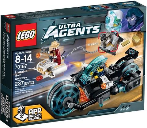 LEGO Ultra Agents: Похищение золота 70167 — Invizable Gold Getaway — Лего Ультра Эджентс Ультра Агенты