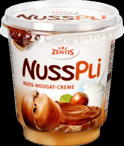 Zentis Паста ореховая с какао Nusspli, 400 г