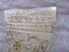 Набор силиконовых штампов для создания рамок и обрамлений