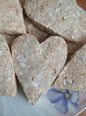 Сердце с глиной Яшма
