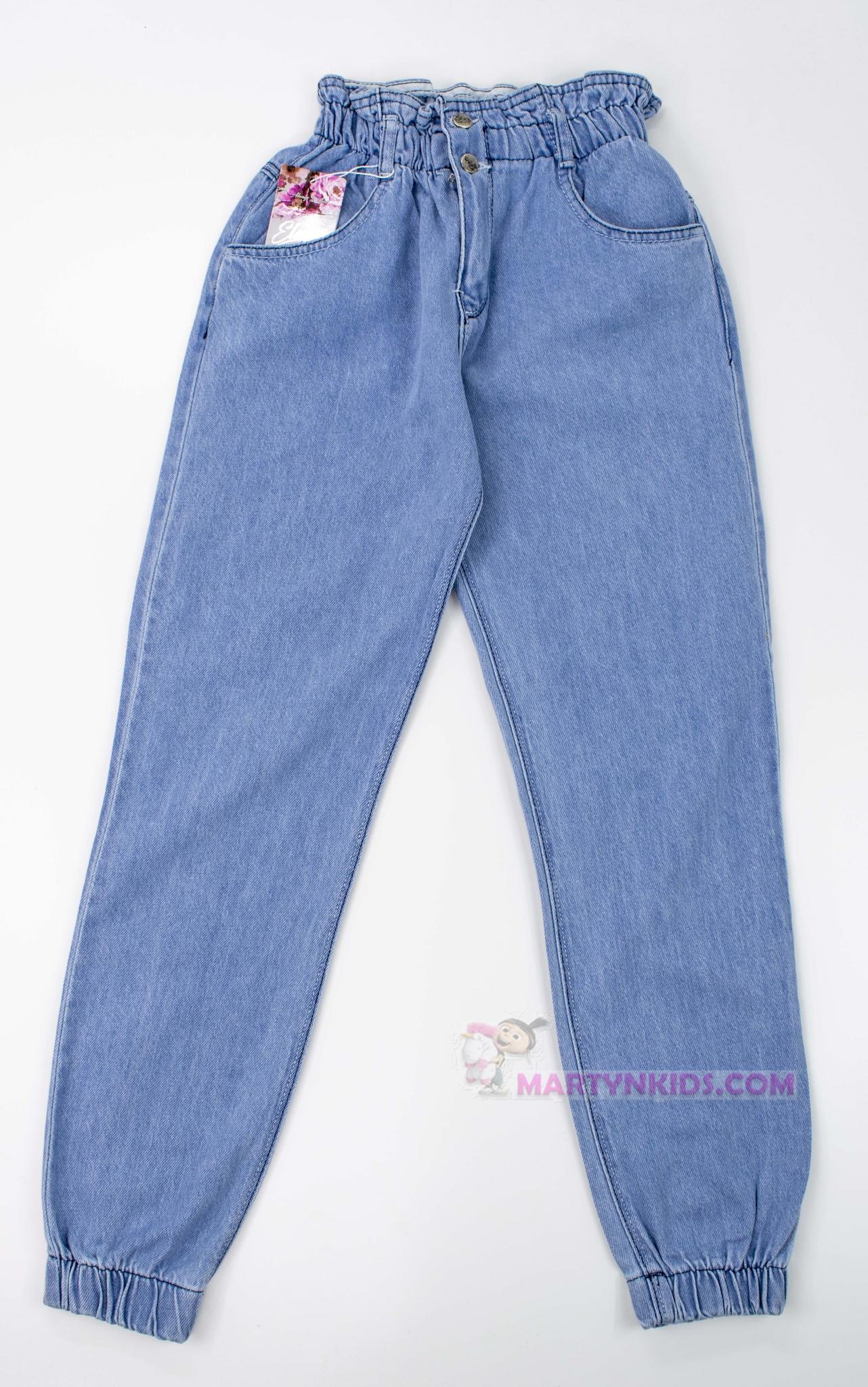 3613  джинсы-бойфренды стрейч