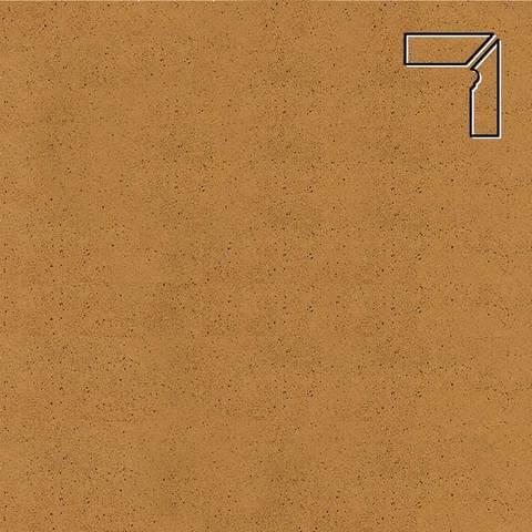 Ceramika Paradyz - Aquarius Brown, 300x81x11, артикул 5248 - Цоколь правый гладкий 2-х элементный
