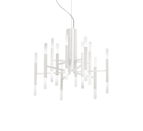 Подвесной светильник копия THE LIGHT by Alma 12 плафонов (белый)