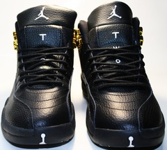 Кроссовки баскетбольные черного цвета nike air jordan 12 retro