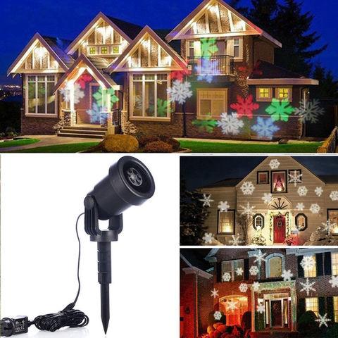 Лазерный проектор уличный Star Shower Laser Light делает фигуры делает уличные фигуры