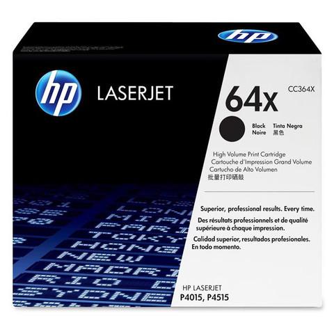 Оригинальный картридж HP CC364X (№64X), чёрный