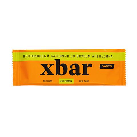Протеиновый батончик Xbar Апельсин 60г Vasco