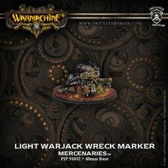 Light Warjack Wreck Marker