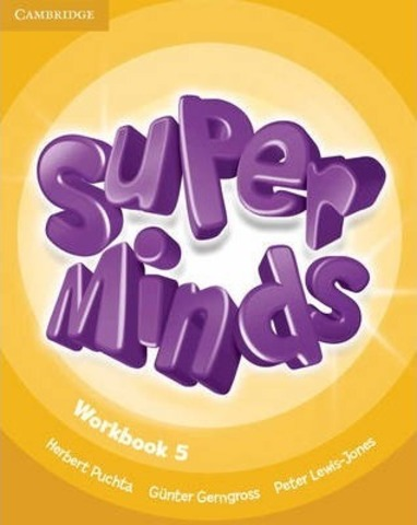 Super Minds 5 (SB+WB)+CD+DVD