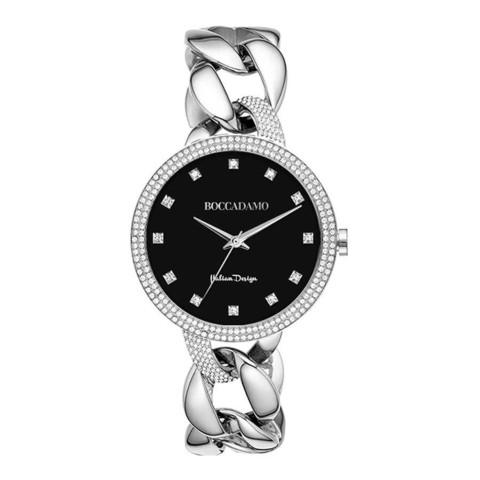 Часы LadyB Silver Black LB004 BW/S
