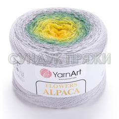Flowers Alpaca Yarnart 424