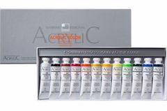 Набор акриловых красок ShinHanart ACRYLIC COLOR PRO, 20 мл, 12 цветов