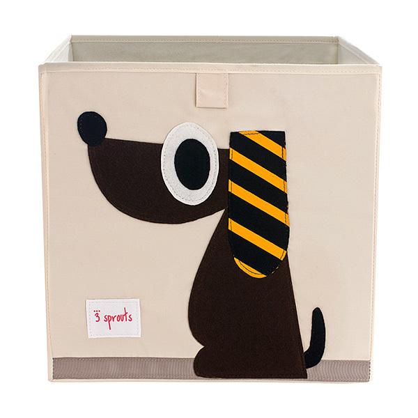 Коробка для хранения 3 Sprouts Собака (коричневый)