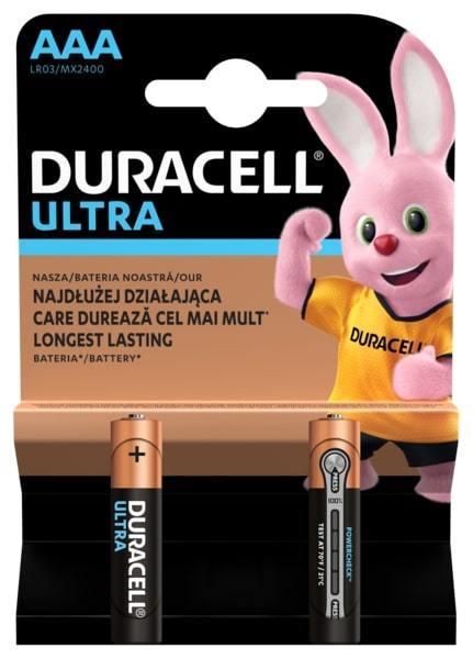 Элемент питания Duracell LR03-2BL Ultra Power