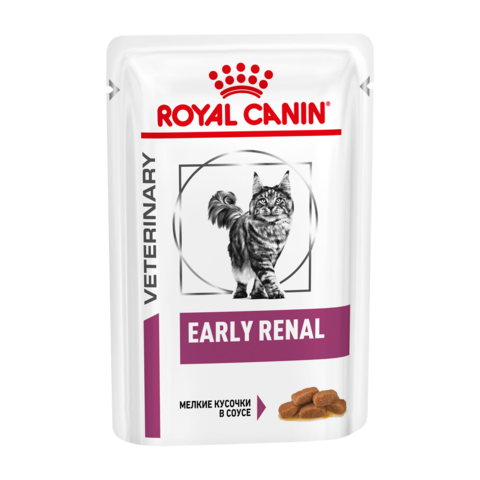 Royal Canin Early Renal Консервы для кошек при ранней стадии почечной недостаточности (Пауч)