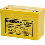 Аккумулятор YELLOW HRL 12-320W ( 12V 90Ah / 12В 90Ач ) - фотография