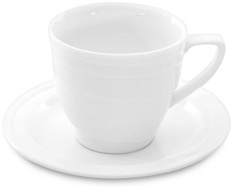 Чашка средняя и блюдце 0,125L 1690216