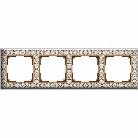 Werkel Рамка W0041523 (WL07-Frame-04) белое золото