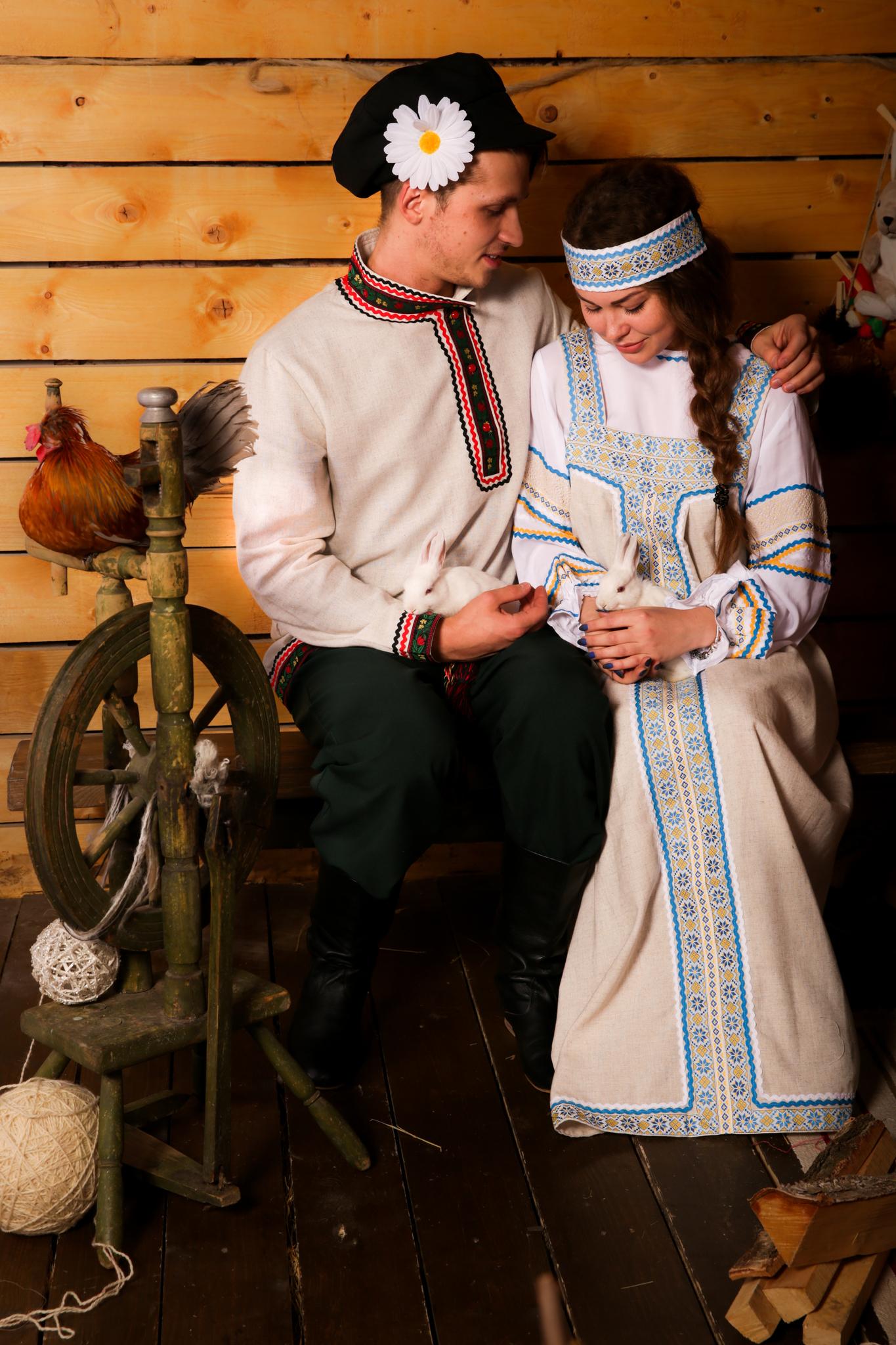 русский народный костюм Иванка от Костюм Шоу пара