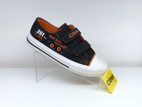 Clibee B223 Black/Orange 31-36
