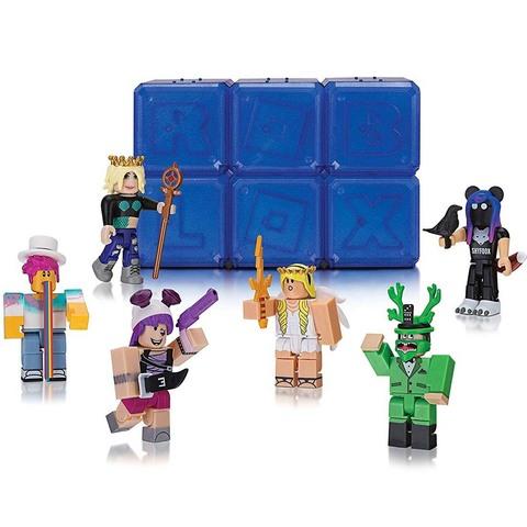 Роблокс Тайный набор Знаменитостей из 6 штук, серия 2 Синие