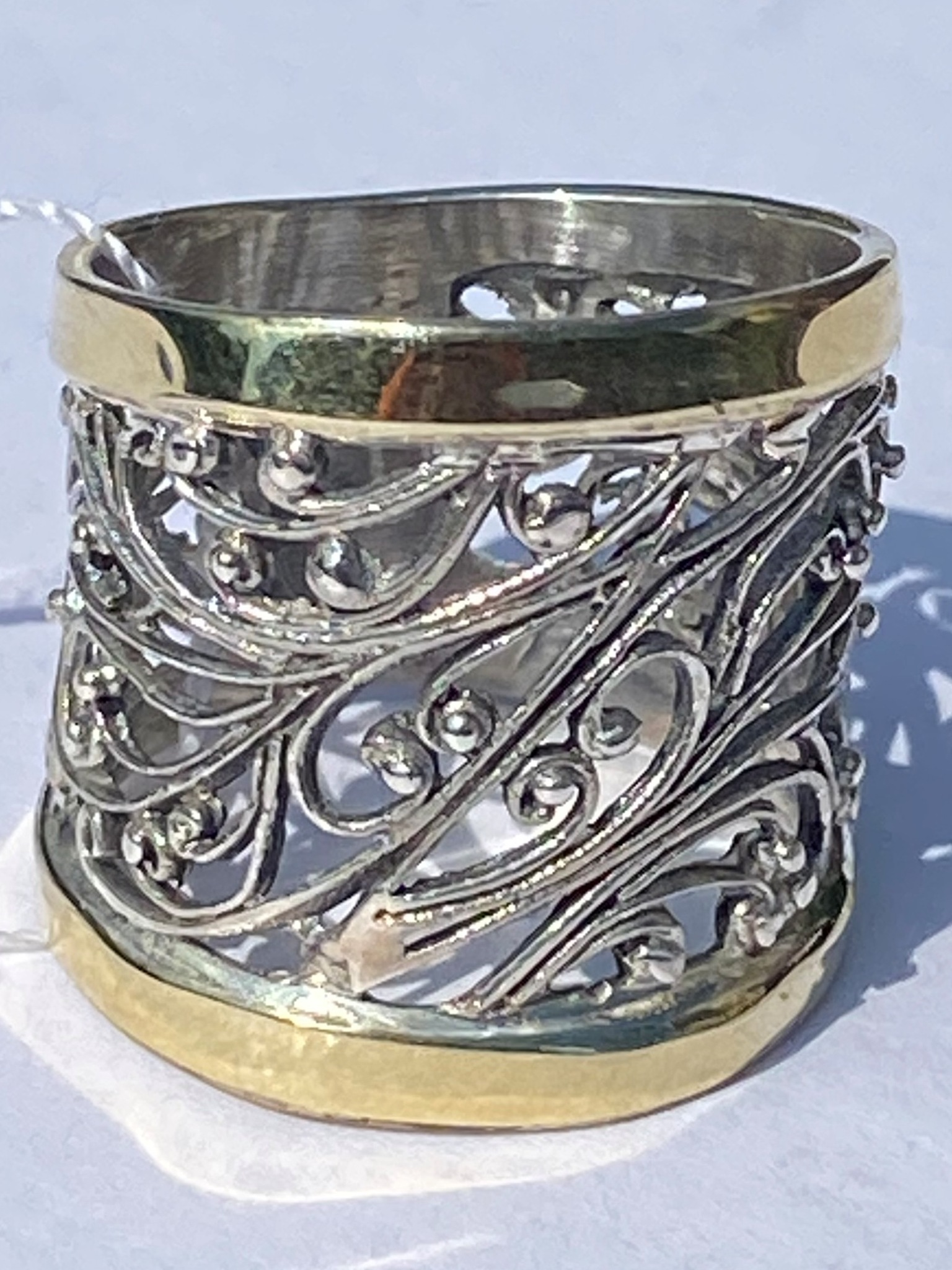 Зернь 1130ш(кольцо из серебра/золота)