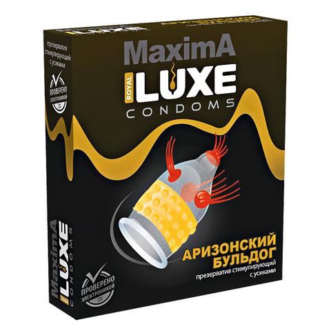 Презерватив LUXE MAXIMA