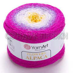 Flowers Alpaca Yarnart 426