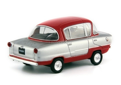 IMZ-NAMI-A50 Belka (Squirrel) silver-red 1:43 DeAgostini Auto Legends USSR #115