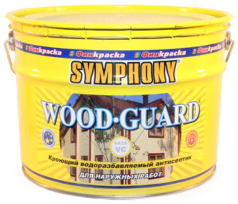 SYMPHONY WOOD GUARD - водоразбавляемый кроющий антисептик с добавлением льняного масла