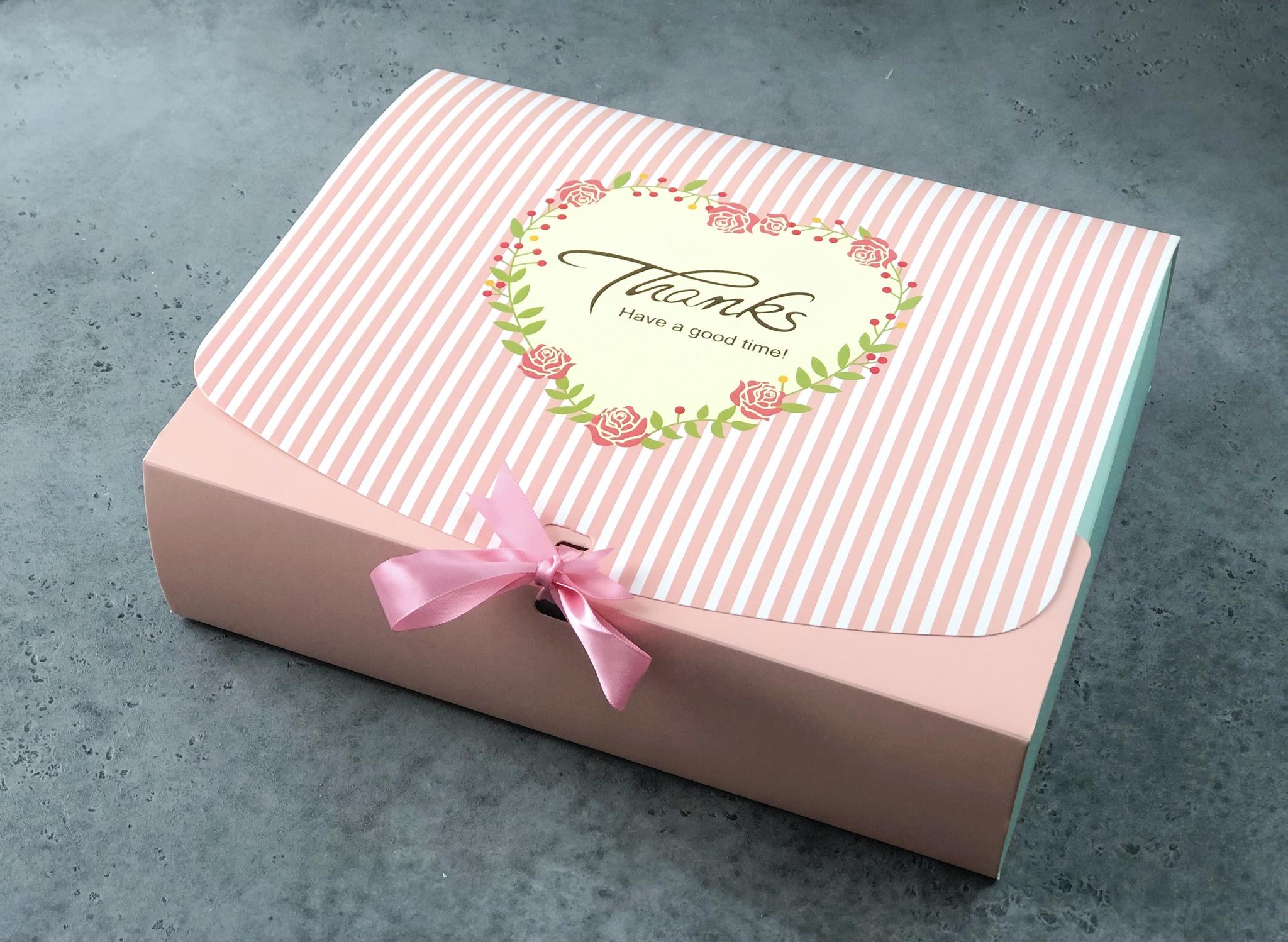 Коробка-конверт розовая для сладостей «Have a good day», 31х24х8 см
